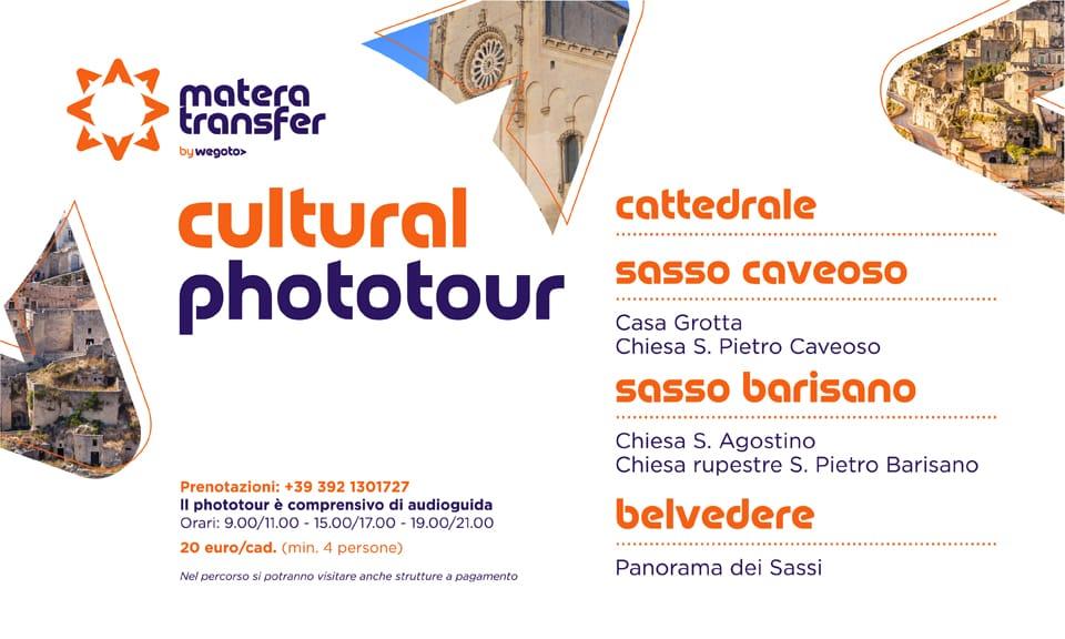 Cultural Phototour: nuovo tour per visitare Matera